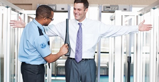how to become an airport security guard
